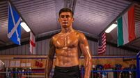 Steven Cairns, 18, embarks on his professional boxing career in Lanzarote