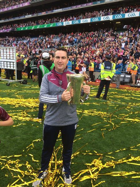 Skibbereen man Gordon Crowley who worked as an analyst with the Galway minor hurling team who captured the All-Ireland title.