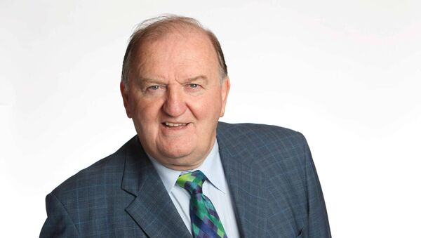 George Hook, who has given his time to the students involved in PBC Podcast. Picture Jason Clarke