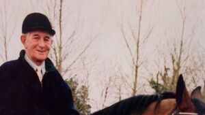 The late Pat Lordan dedicated his life to his love of horses and his family