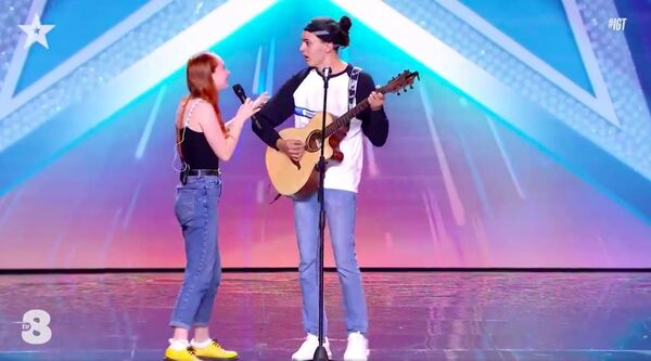 Abigail and Federico on Italy's Got Talent