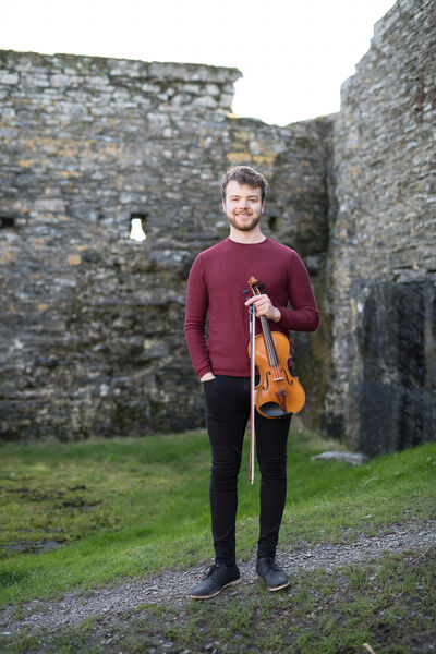 Cork violinist Brendan Garde is bringing the sound of strings to the net.