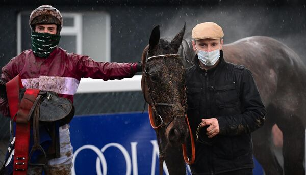 Churchstonewarrior and Ray Barron won the Thurles (Pro/Am) Flat Race for trainer Jonathan Sweeney. Picture: Healy Racing