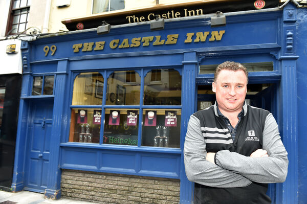 Michael O'Donovan of the Castle Inn. Picture: Eddie O'Hare