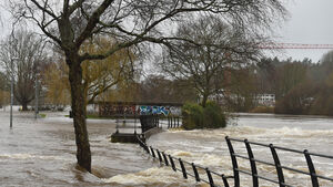 Routes around Cork flooded as orange weather warning remains in place