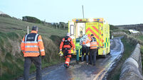 Swimmer rescued in 'complex' operation after being washed into a sea cave in West Cork