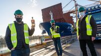 From Local to Global - Kinsale Gin Departs Port of Cork for China