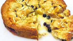 Recipe: Pear and Blueberry Shortcake with Cardamon and Ginger