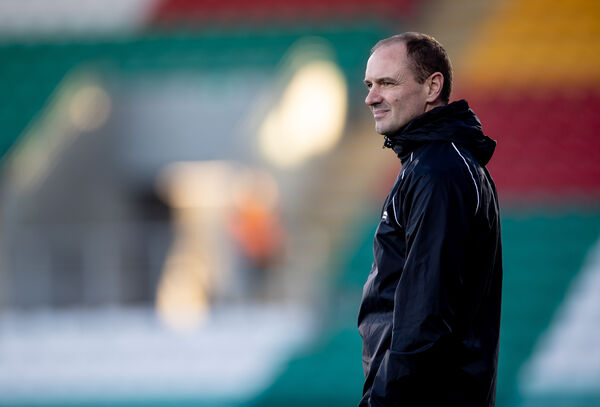 Cork City manager Colin Healy. Picture: INPHO/Morgan Treacy