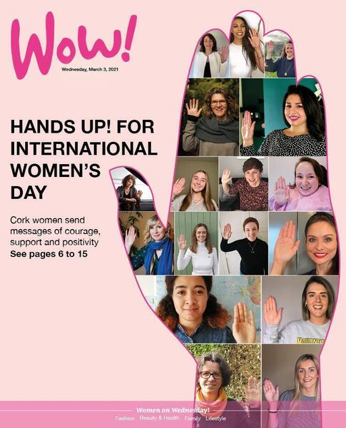 The front cover of Wow! in The Echo on March 3
