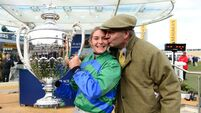 Maxine staying as an amateur jockey means she can't defend the Foxhunter Chase title at Cheltenham