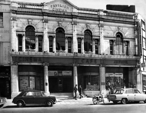 The Pavillion Cinema, St. Patrick's Street, Cork in the 1950's.