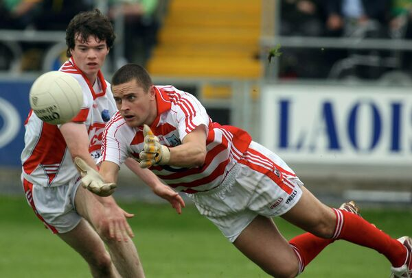 Paddy O'Shea in senior championship action for Cork. Picture: INPHO/Lorraine O'Sullivan