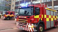 Motorists warned of poor visibility as emergency services investigate potential fire in Cork city centre