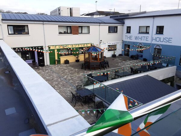 Haven Bay Nursing Home has recreated the streets of Kinsale as part of its new extension.