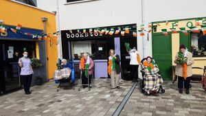 In pictures: Cork nursing home recreates local streets on their grounds for St Patrick's Day celebrations