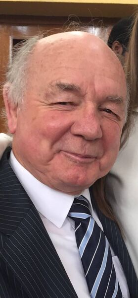 Tom Walsh, an internationally renowned expert on customs law and practice, who will be conferred with his doctorate from the UCC College of Business & Law at the age of 80.