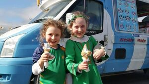 Pics: How one Cork school celebrated St Patrick's Day today