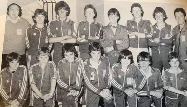 The 1971 Ascension Parish Community Games team won the gold medal: Back: Paddy O'Reagan (RIP), Donal Goulding, Joe Hoare, Paul Dunne, Robert Dalton, Martin Ahern ( RIP), John O'Connell (RIP), Coach John O'Leary. Front: Mascot, Peter White, Willie McCarthy, Aaron O'Connell, Kieran Fitzgerald, John Dinnybobs McCarthy, Kevin Ahern.