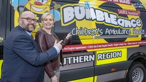 Funding drive for children's ambulance service which has undertaken 13000 trips