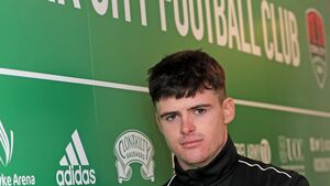 Three is the magic number for Cork City's Ronan Hurley