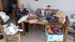 Cork woman (92) using her time cocooning to make food hampers for the homeless