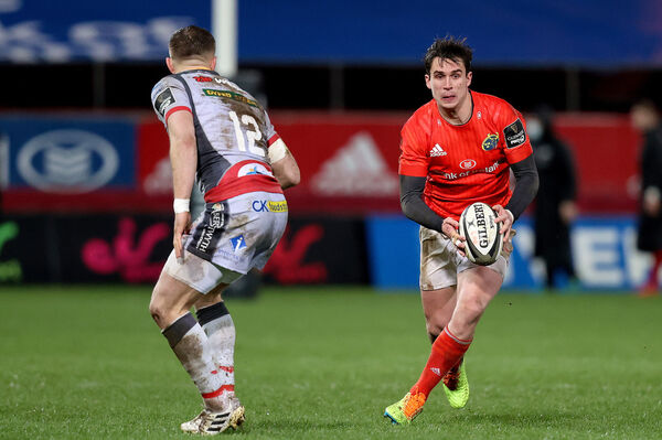 Munster's Joey Carbery has been in top form. Picture: INPHO/Bryan Keane