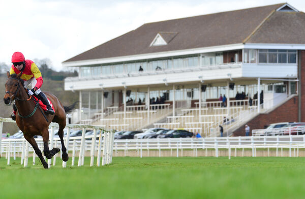 Action from Cork Racecourse. Picture: Healy Racing