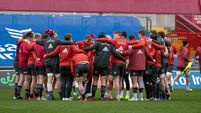 A general view of training at Thomond Park 23/3/2021