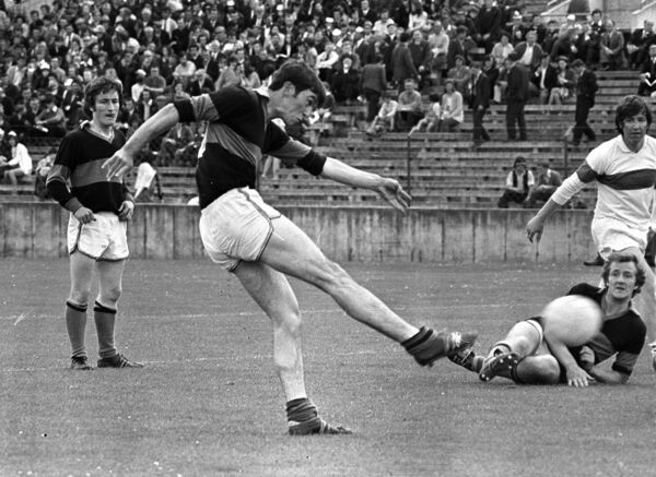 Seamus Coughlan in action for Nemo in 1973.