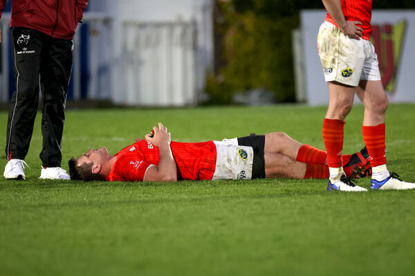 Munster's CJ Stander dejected after the game. Picture: INPHO/Billy Stickland
