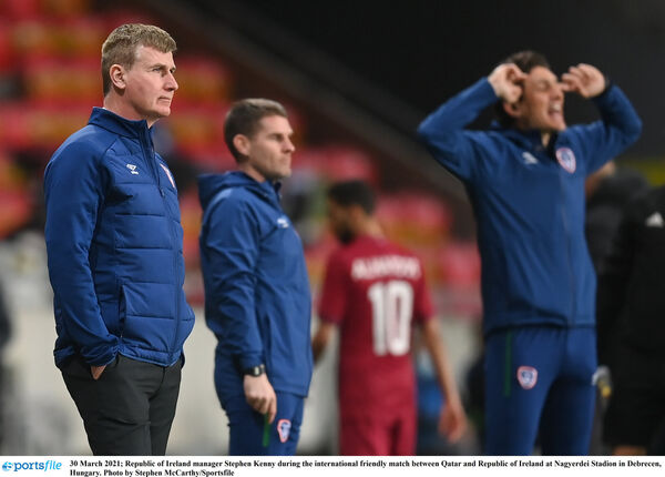 Republic of Ireland manager Stephen Kenny. Picture: Stephen McCarthy/Sportsfile