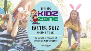 Calling Cork kids... take part in our Big Easter Quiz (Aged 8 to 12) and win a prize
