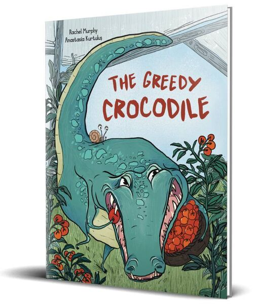 Rachel Murphy's book, The Greedy Crocodile