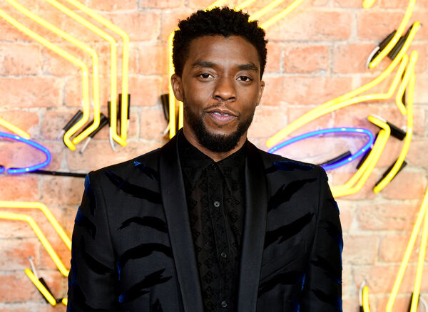 Chadwick Boseman, whose widow accepted the SAG award.