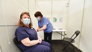 Watch: Healthcare workers excited to welcome people to North Cork vaccination centre