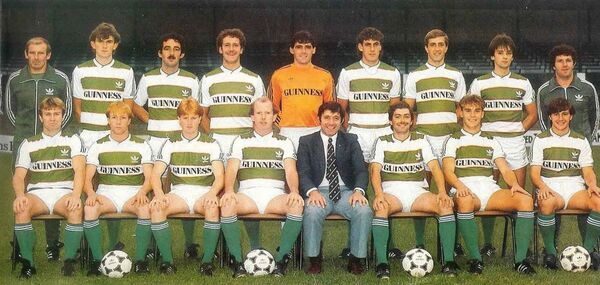 Cork City FC in 1984.