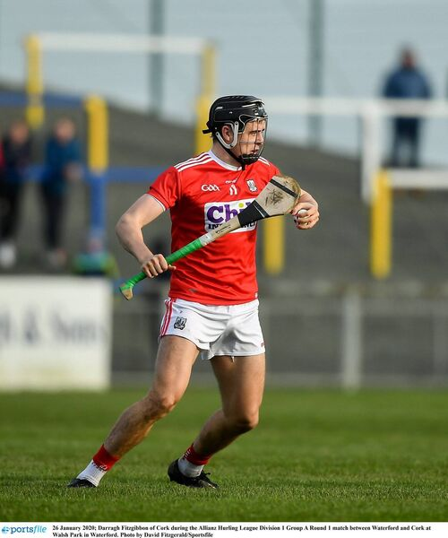 Darragh Fitzgibbon in last year's league at Walsh Park. Picture: David Fitzgerald/Sportsfile