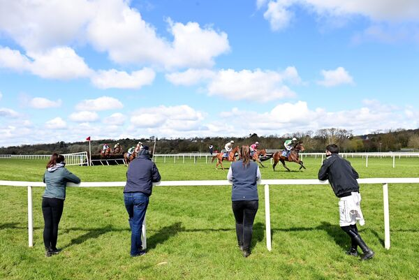 Point-to-pointing returned at Cork Racecourse under strict social distancing Guidelines. Picture: Healy Racing.