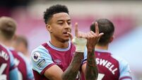 Jesse Lingard strikes twice as West Ham hold on to beat Euro rivals Leicester