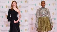 Sparkles and suits: All the best looks from the Baftas red carpet
