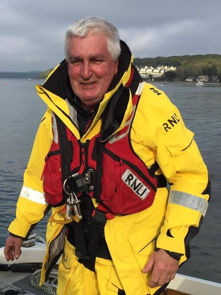 Mícheál Hurley, who has retired from Courtmacsherry Harbour Lifeboat, after 44 years. Pic: Courtmacsherry Harbour Lifeboat Facebook page