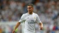 Lucas Vazquez ruled out of Real Madrid's trip to Liverpool with knee injury