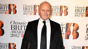 Sir Anthony Hopkins celebrates Bafta win for best actor in his native Wales