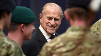 Duke of Edinburgh visit to 1 Assault Group Royal Marines