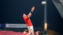 Billy Holland wins a line-out ball  5/3/2021