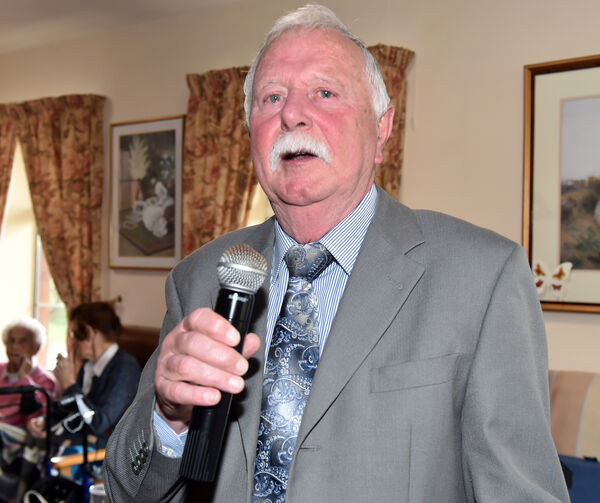 Pat Quirke, a contestant at the over 60s talent competition. Picture: Eddie O'Hare