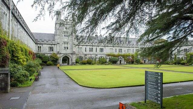 <p>University College Cork has been ranked 8th in the world by the Times Higher Education (THE) prestigious Impact Rankings. Picture: Dan Linehan</p>