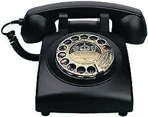 A typical phone from the 60s.