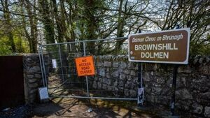 Irish dolmen closed to public for first time in 4,000 years, councillor claims